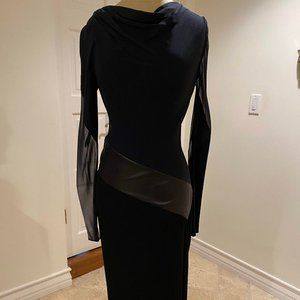 Chic Silk leather DVF  for Barney's New York dress